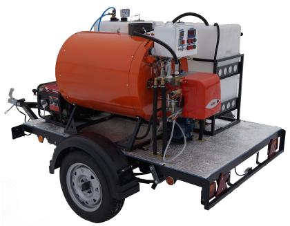 парогенератор промышленный дизельный мобильный