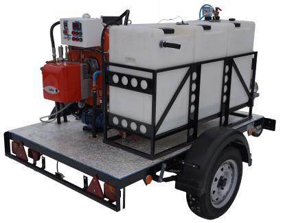 парогенератор промышленный мобильный дизельный купить